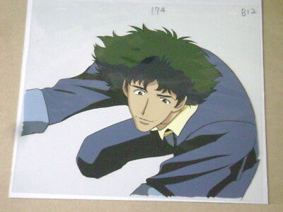 Cowboy Bebop Spike Anime Production Cel 21
