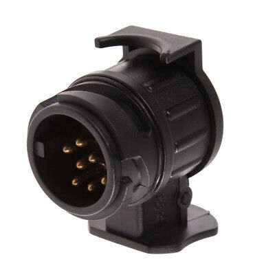 12V 13 to 7Pin Plug Adapter Electrical Converter Truck Trailer Connector Adapter