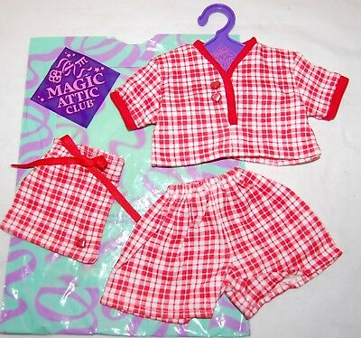 TONNER MAGIC ATTIC CLUB Doll Whispering Pines Camp Pajamas Outfit Clothing NEW