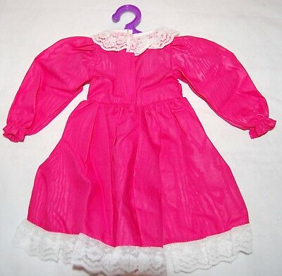 MAGIC ATTIC CLUB Heather Pink Holiday Party Dress Doll Outfit NEW