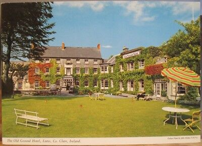 Irish postcard the old ground hotel ennis county clare ireland john irish postcard the old ground hotel ennis county clare ireland john hinde 21105 altavistaventures Image collections