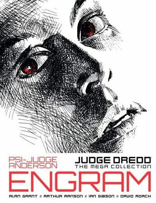 2000AD: JUDGE DREDD THE MEGA COLLECTION - Part 09 - ANDERSON ENGRAM - EXCELLENT