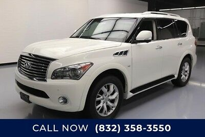 Infiniti QX80  Texas Direct Auto 2014 Used 5.6L V8 32V Automatic RWD SUV Bose Premium Moonroof