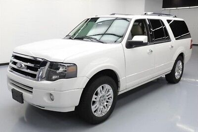Ford Expedition Limited Texas Direct Auto 2014 Limited Used 5.4L V8 24V Automatic 4X2 SUV Moonroof
