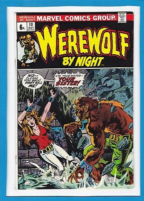 "Werewolf By Night #10_Oct 1973_Very Good+_""the Sinister Secret Of Sarnak""_Uk!"