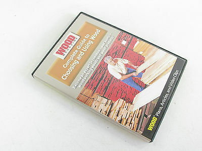 Wood Magazine Complete Guide to Choosing and Using Wood DVD