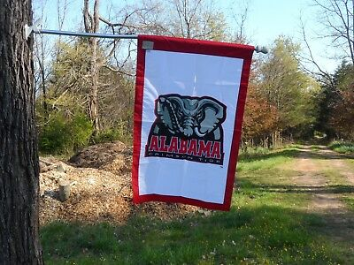 University Of Alabama House Flag Embroidered By Evergreen