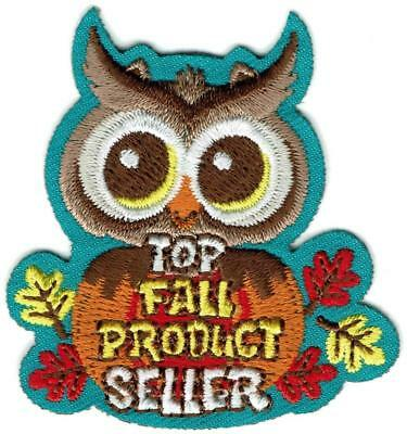 Girl Boy Cub FALL PRODUCT TOP SELLER- OWL Fun Patches Crests Badge SCOUTS GUIDES