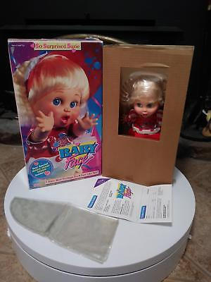 Galoob BABY FACE DOLL so surprised suzie VINTAGE nrfb