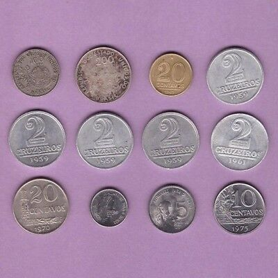 Brazil (1901-1975) - Coin Collection Lot # Y-3 - World/Foreign/South America