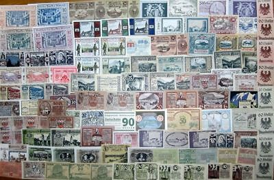 (2) Austria - Notgeld collection !!! 100 pieces !!! good used