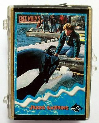 Complete Set of 90 Trading Cards Free Willy II 1995 Skybox Mint (35)