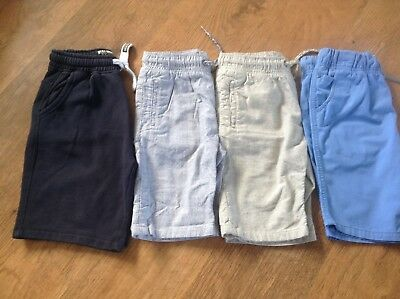 100%  Next Boys Small Bundle Of Summer Shorts 9-10Yrs