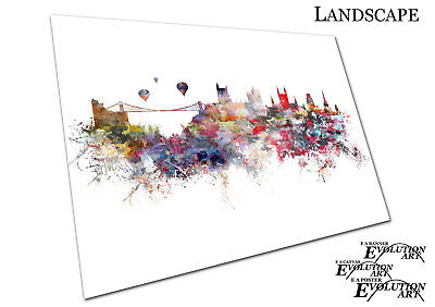 WORLD MAP FAMOUS Landmarks WMFL01 POSTER PRINT A4 A3 BUY 2