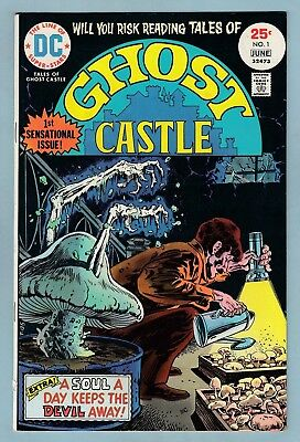 TALES OF GHOST CASTLE # 1 FNVF (7.0) 1st LUCIEN THE LIBRARIAN APPEARANCE - CENTS