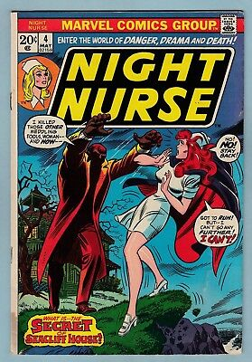 Night Nurse # 4 Gd+ Marvel- Linda Carter (Inspired Claire Temple Netflix)- Cents