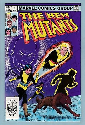 New Mutants # 1 Vfn+ (8.5)  Nice High Grade Marvel - 1983 - Movie Out This Year