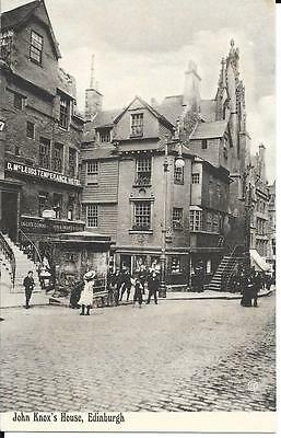 Early Postcard  -  John Knoxs House, Edinburgh