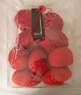 Hanne Falkenberg Knitting Yarn Kit - 9 X 50Gm Balls - Shetland Wool