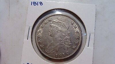 1818 Capped Bust Half   XF+