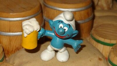 Smurfs Beer Smurf Party Brew Bully Germany 1974 20078 Rare Vintage Schtroumpf