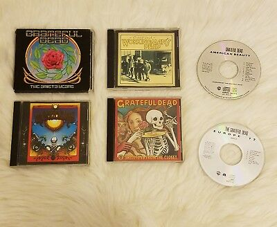 CD Lot of 6 Grateful Dead Cd's American Beauty (Europe), Aoxomoxoa and more