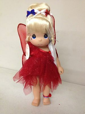 """Precious Moments Disney TInker Boom Tinkerbell Red 12"""" Doll #4902"""