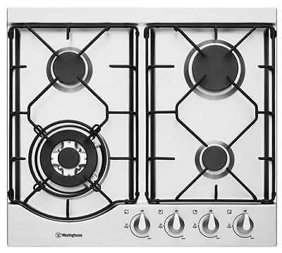 Westinghouse 60cm Stainless Steel Gas Cooktop WHG644SA