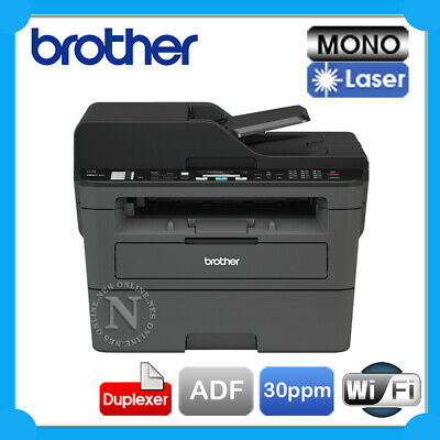 Brother MFC-L2710DW/L2713DW 4in1 Mono Laser Wireless Printer+Duplex+ADF+FAX*RFB*