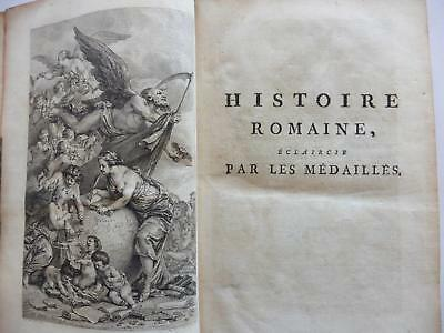 Antiquarian History Of Rome. Historie Romaine 1783. Woodcuts. Incredibly Rare