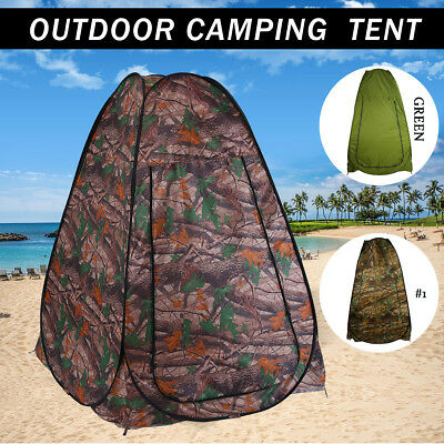 UK Portable Pop Up Outdoor Tent Instant Camping Privacy Changing Toilet Shower