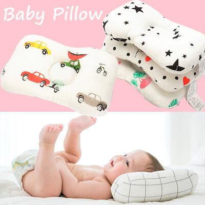 White 29x19x3cm Baby Pillow Prevent Flat Head Shaping for Baby Nursing Pillow