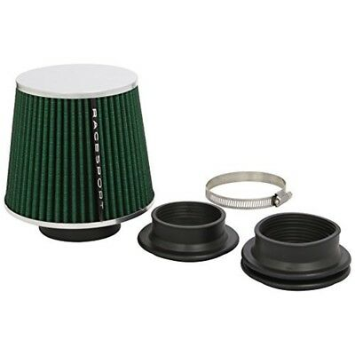 Sumex Airgrin Universal Sports Air Filter With Adaptors - Green/ Chrome - Green