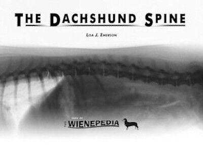 Detailed THE DACHSHUND SPINE BOOK by LISA J. EMERSON..  SPECIAL PRICE.
