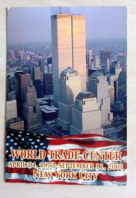 cp 1132  - carte  postale NEW YORD -  TWIN TOWERS  WORLD TRADE CENTER