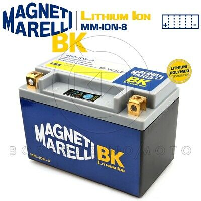 BATTERIA MAGNETI MARELLI LITIO MM-ION-8 YTX9-BS SUZUKI AN Burgman 400 2000
