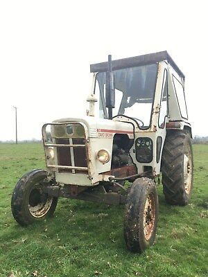 David Brown 885 Tractor In Good Working Condition Massey Ford John Deere