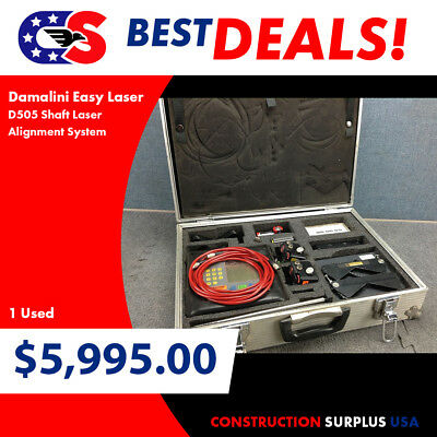 Damalini Easy Laser D505 Shaft Laser Alignment System