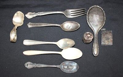 Lot of Vintage Sterling Silver Scrap Art & Crafts | 182g