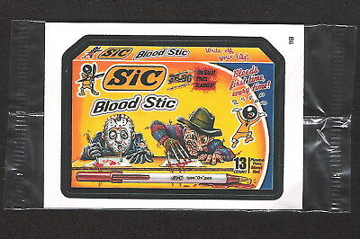 2006 Topps Wacky Packages ANS4 Series 4 B6 Bonus SIC BLOOD STIC nm in cello