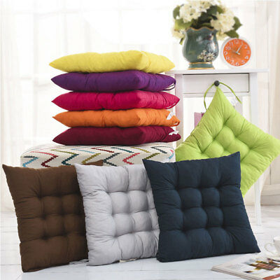 Cushion Soft Seat Pads Indoor Home Dining Kitchen Office Chair Tie On - Square