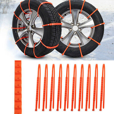 1Pc Universal Car SUV Winter Tyres Wheels Thickened Tendon Anti-skid Snow Chains