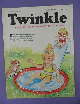 Twinkle Comic, Picture Paper For Little Girls #131, July 25th 1970