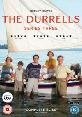 The Durrells Season 3 Series Three Third (Keeley Hawes) New DVD Region 4