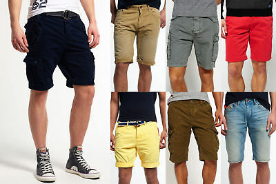 New Mens Superdry Shorts Selection - Various Styles & Colours 2304 1