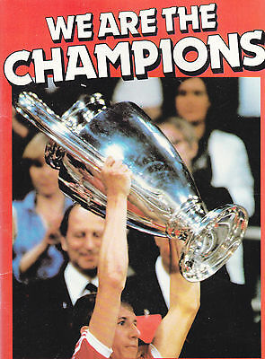 We are the Champions , European Cup Competition 1955-1980
