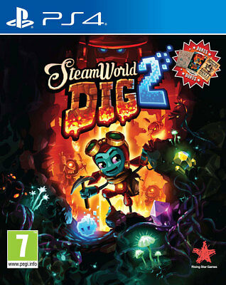 SteamWorld Dig 2 (PS4)  BRAND NEW AND SEALED - IN STOCK - QUICK DISPATCH