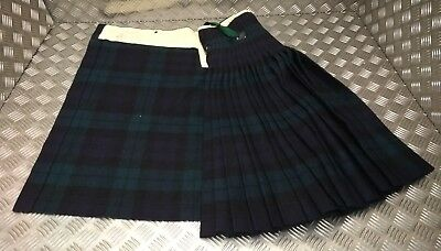 Genuine Vintage British Army Issue War Department Tartan Dress Kilt - Faulty