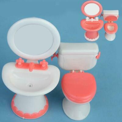 1/6 Plastic Miniature Furniture Kit for Barbie Dolls House Any Rooms Accessories