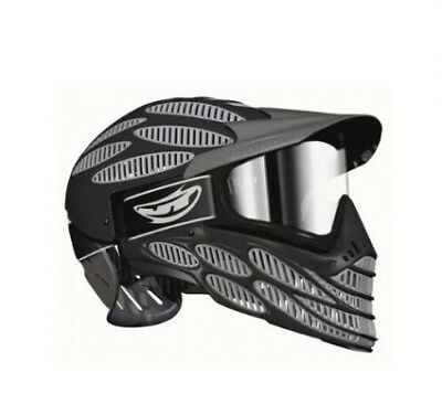 Paintball Maske JT Flex 8 Spectra Full Head grau